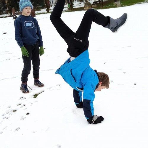 Bild zum Weblog Schneespaß
